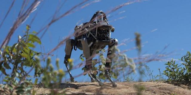 Robot Perang Buatan Google di Ujicoba Marinir AS