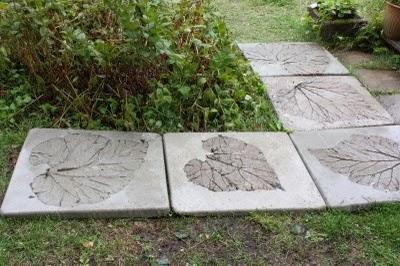 gjuta gångplattor i betong