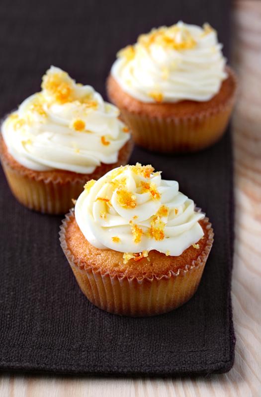 cupcakes clementine e cioccolato bianco