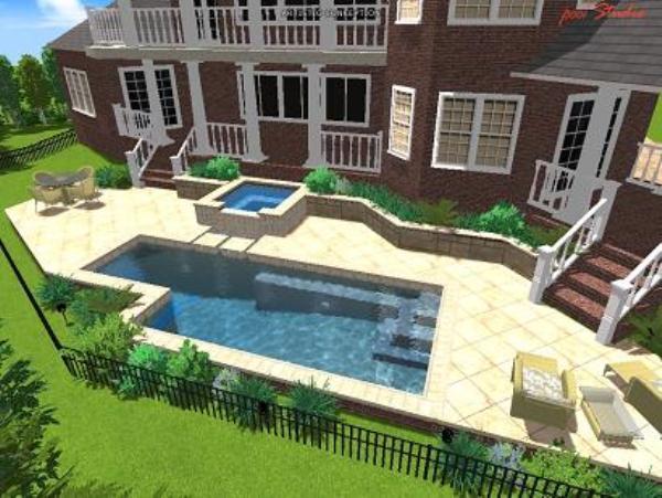 Geometric swimming in your backyard