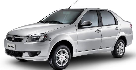 Fiat Siena EL lançamentos