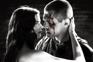 "Cena do filme ""Sin City: A Dama Fatal"""