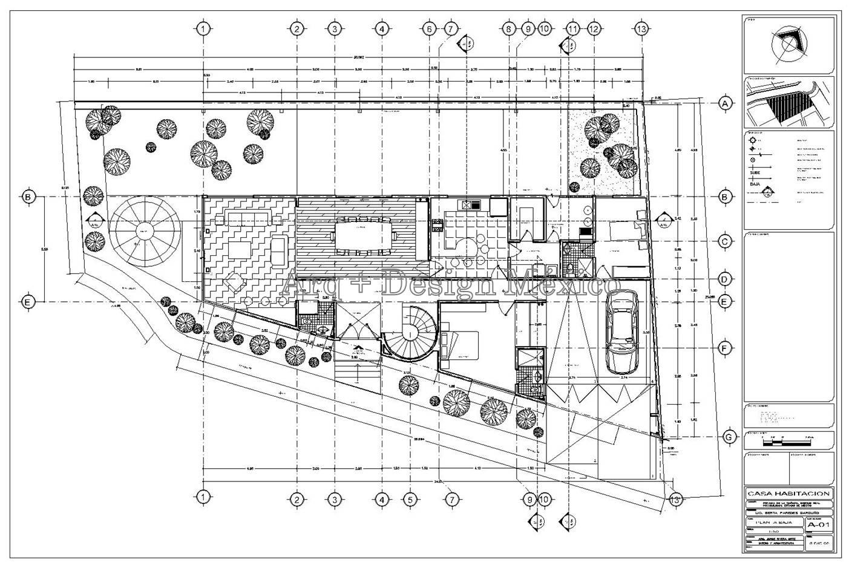 Maquila de planos arq design m xico for Representacion de planos arquitectonicos