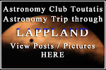 Read Club&#39;s trip in Lappland Transit of Venus 2012