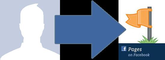 convertir perfil facebook en pagina