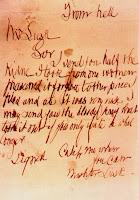From Hell. Carta de Jack the Ripper (de dominio público)