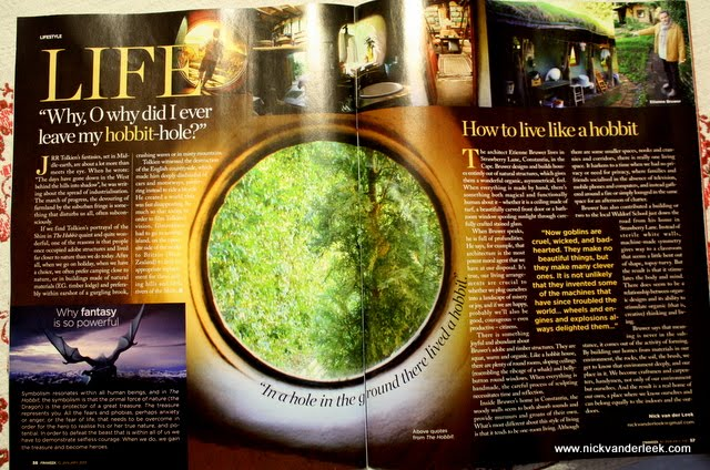 Writing and Photography Published in FINWEEK [January 2013]