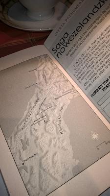 mapa Saga Nowozelandzka