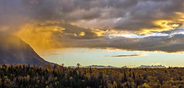 New Hazelton Wetterphänomenen