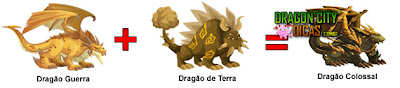 Dragão Colossal - Cruzamento