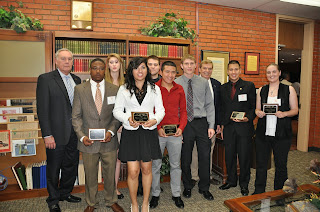 Mosca was among the 100 Club scholarship recipients in 2013.