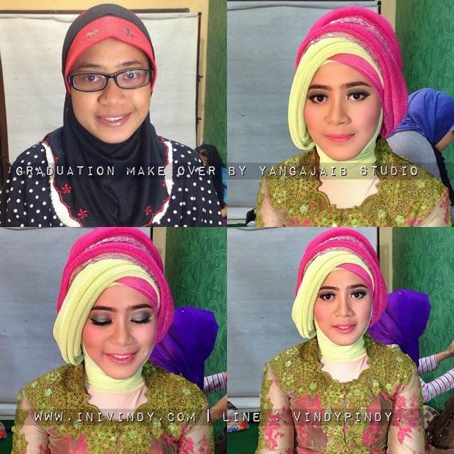 Hijab Tutorial Wisuda Full Step 2015 - YouTube   Hijab