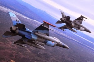 Jet Tempur F16 Israel Kembali Gempur Gaza