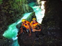Body Rafting Green Canyon