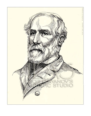 Robert E Lee portrait (US Civil War general)