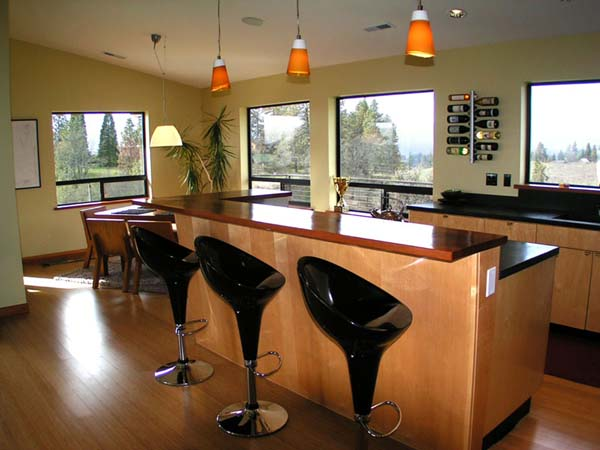 Kitchen breakfast bar ideas the kitchen design for Kitchen setup designs