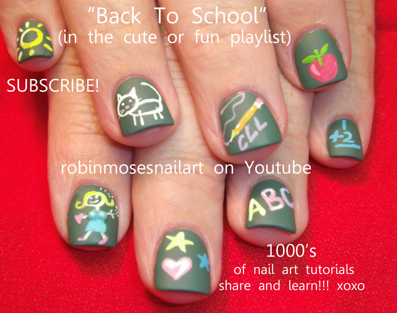 Cool Nail Designs For School