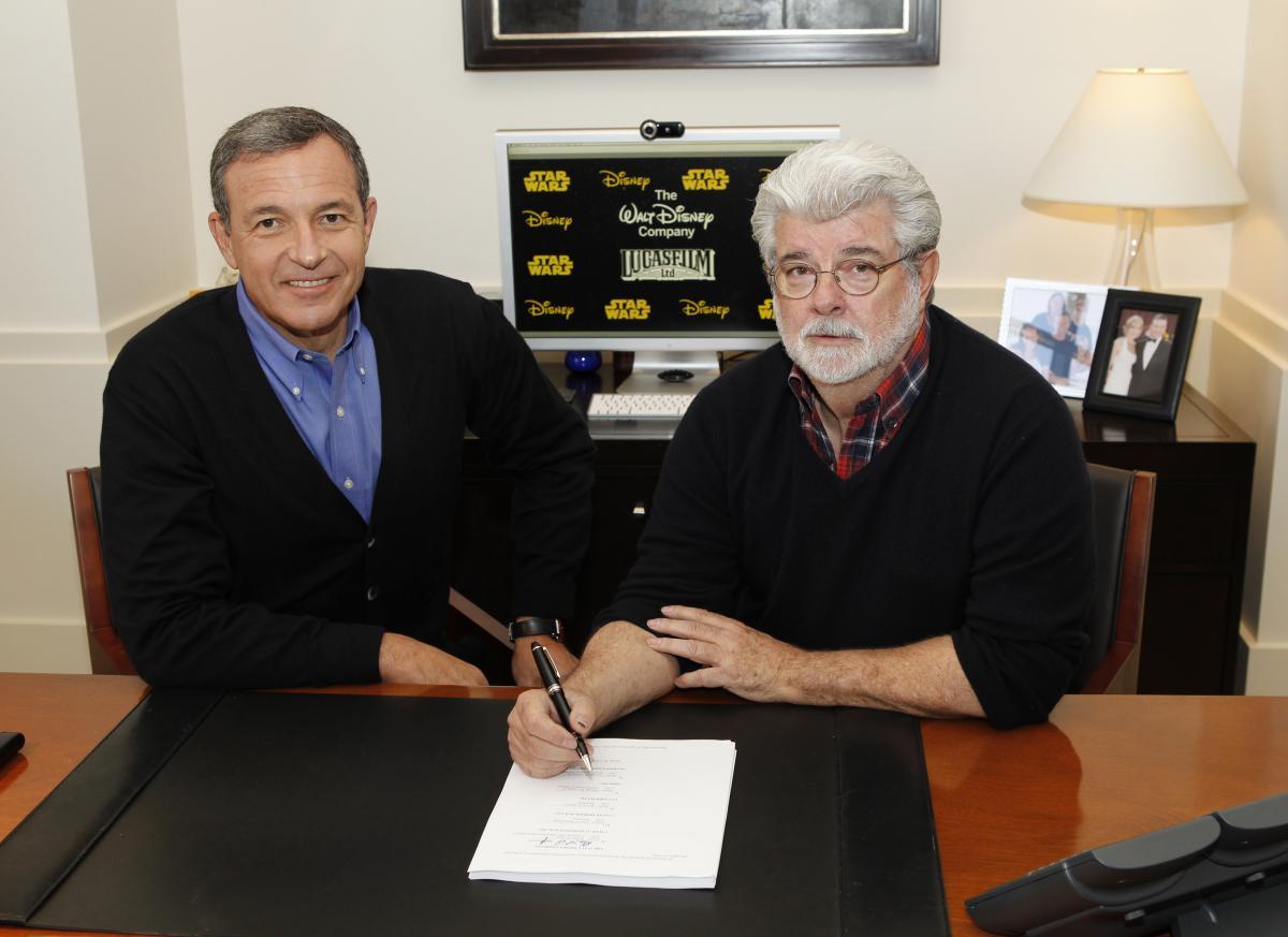 George Lucas vende Lucasfilm