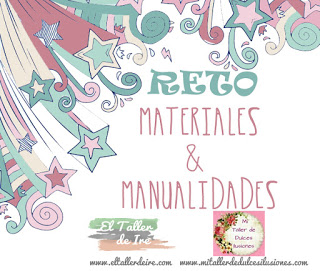 Reto MATERIALES Y MANUALIDADES: bote y tela.