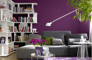 How can i paint my living room whit nice colores cute pretty colors - how to choose colors to paint the living room - ideas to select choose nice colors to paint my small living room - tips to choose two colors to paint my living room - how to paint walls from living room with two or three colores, paint the living room whit white and purple colors, beautiful living room, cute living room, pretty living room, the most beautiful living room