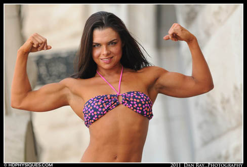 Karly Woodle Female Muscle Bodybuilding Blog HDPhysiques