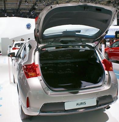 Portbagajul la Toyota Auris