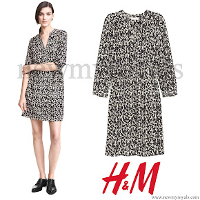 Princess Sofia wore H&M V-Neck Dress