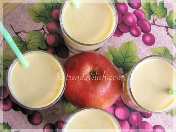 3 in 1 Fruit Milkshake (Warm)
