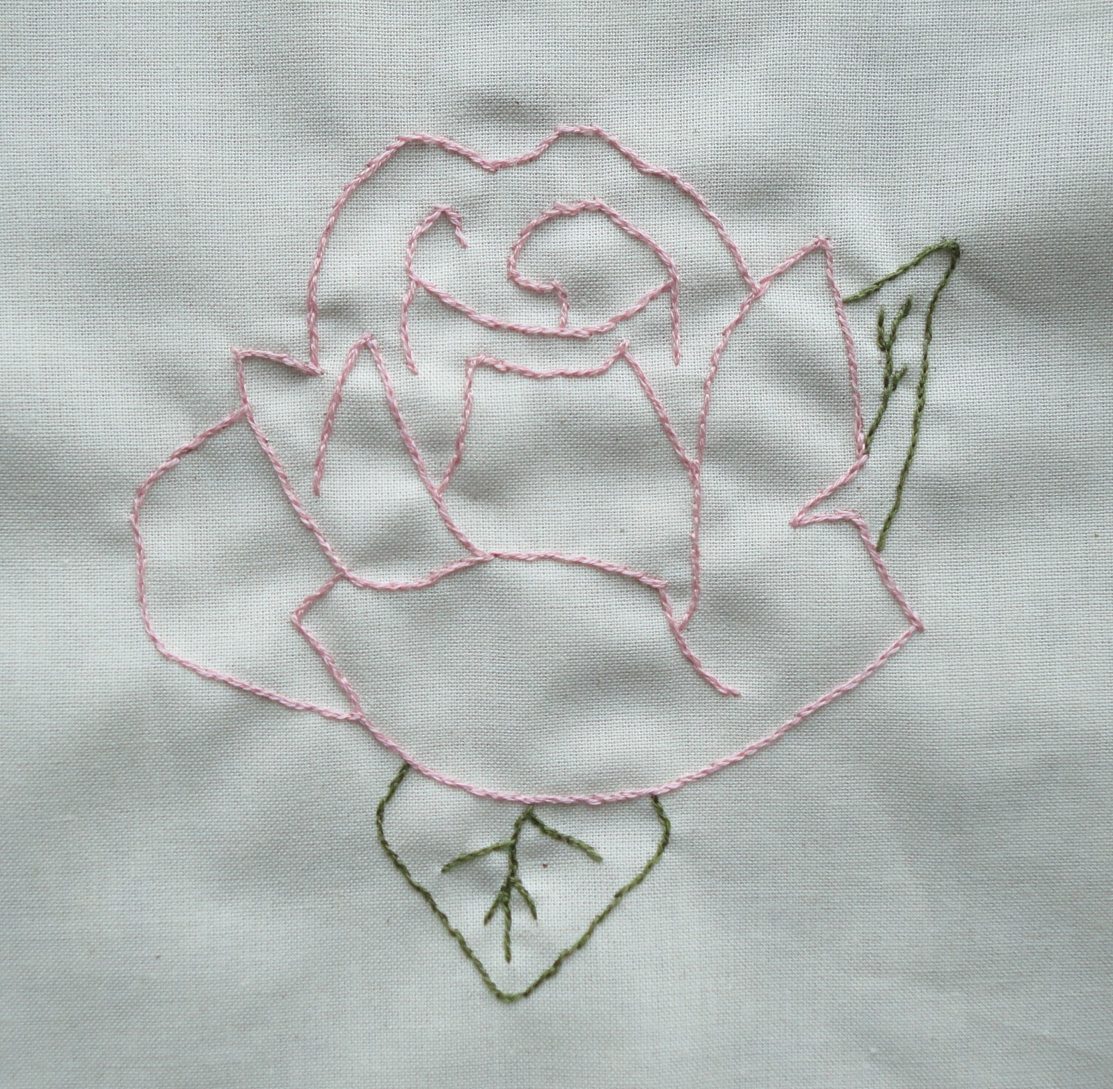 Ravelly hand embroidery bow retreat photos