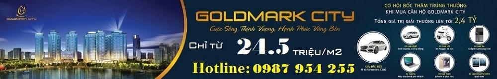 Website chính thức dự án Goldmark City