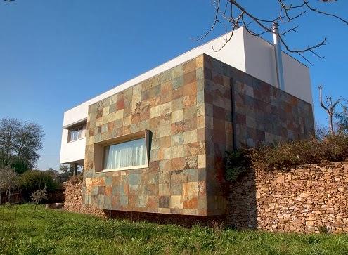 Fachadas de piedra fachadas de piedra modernas - Fachadas ventiladas de piedra ...