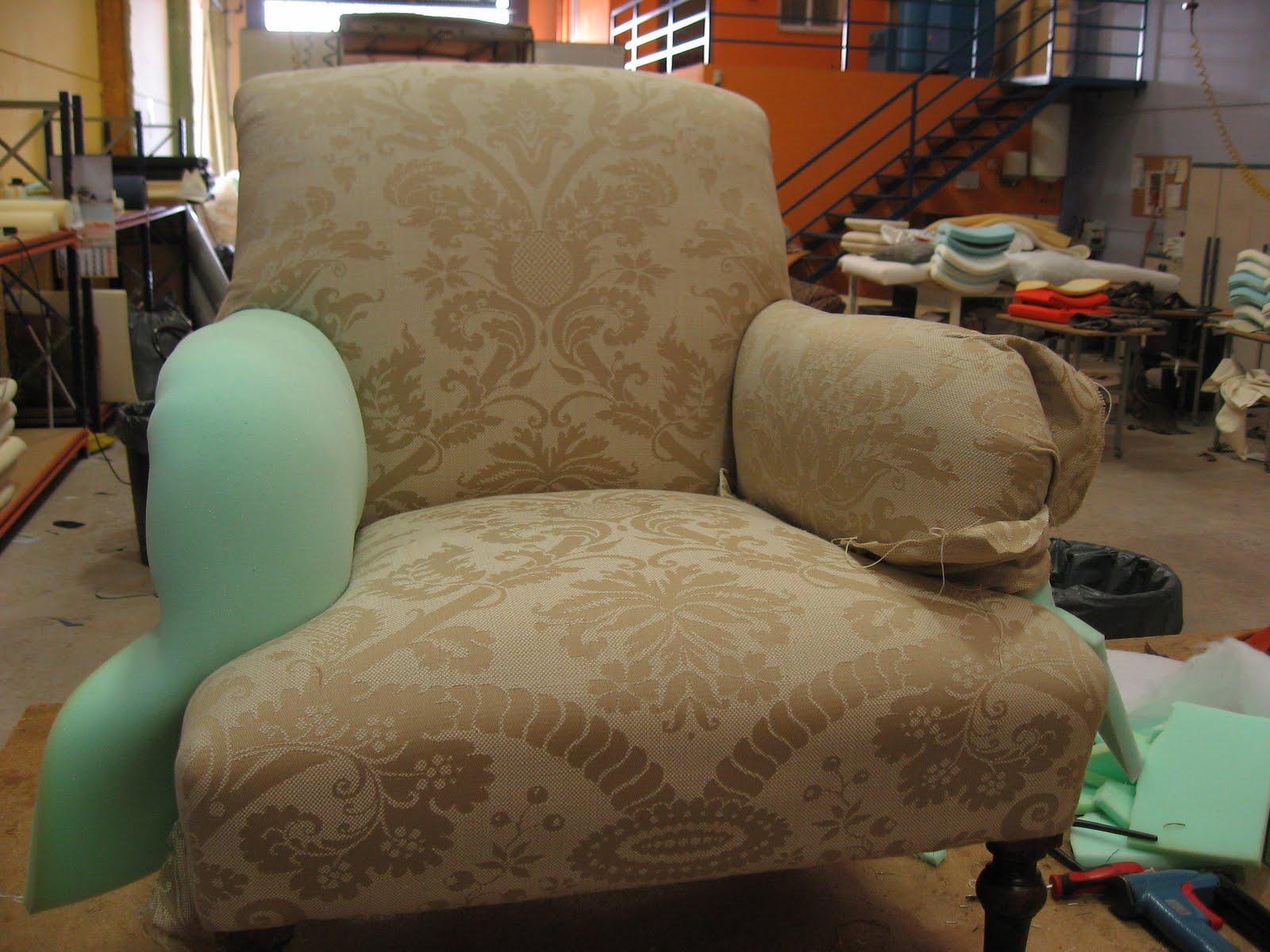 Tapiceando butacas 1 - Esponja para tapizar ...