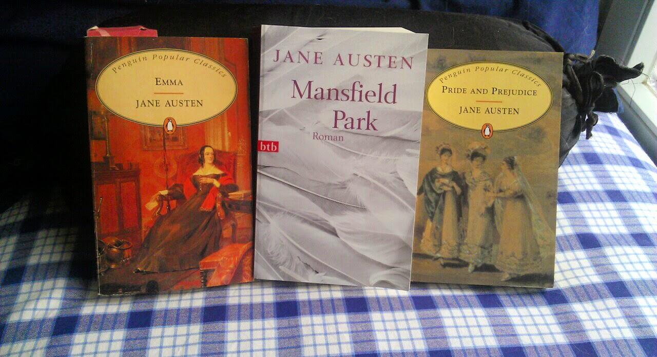 Jane Austen, Emma, Mansfield Park, Sinn und Sinnlichkeit, Stolz und Vorurteil