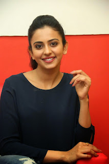 Rakul Preet Singh Pictures in Jeans Gallery at Big FM ~ Celebs Next