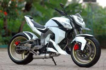 Modifikasi Sepeda Motor Honda Tiger title=