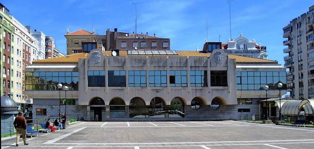Estacion de autobuses de Santander