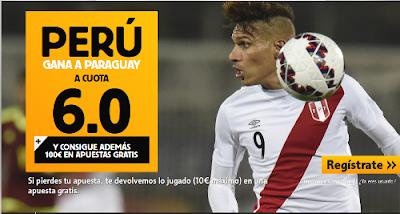 betfair Peru gana cuota 6 Paraguay Copa America 4 julio