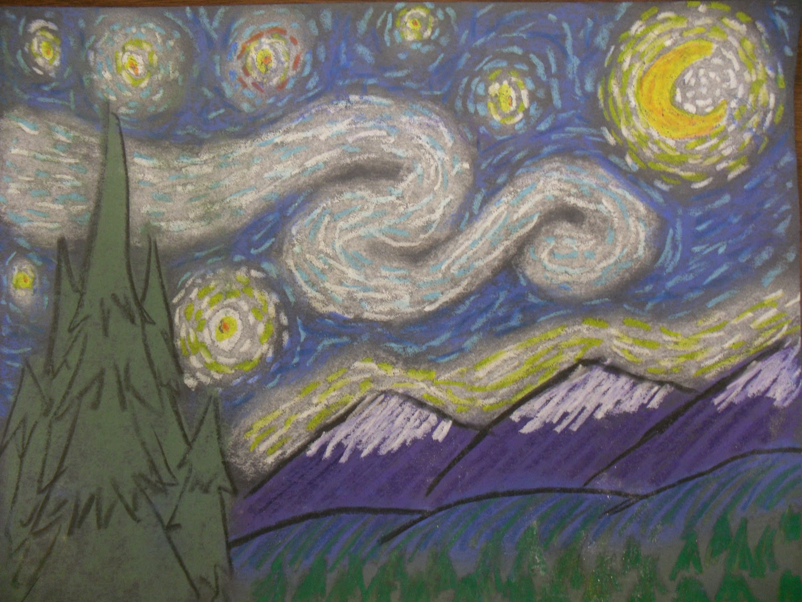 artventurous starry night