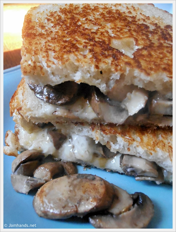 Mushroom Grilled Cheese Sandwich (aka The Mushroom Melt) Recipes ...