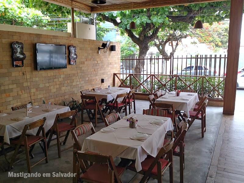 Marfino Restaurante: Ambiente externo