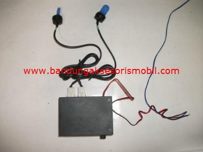 Lampu Blitz PS 704 2 Lampu Kecil Biru