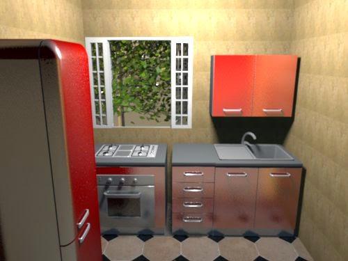 desain dapur minimalis kecil sederhana