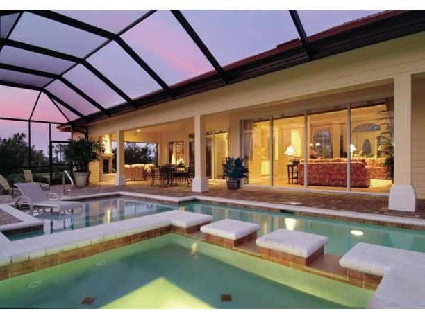 Mediterranean modern house plans dhsw53158 house for Modern mediterranean house plans