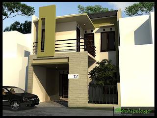 archipelago architecture design: rumah minimalis