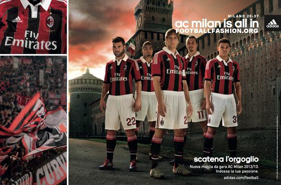Jersey AC Milan 2012-2013