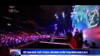 VTV1 đưa tin về chiến thắng của Saigon Fantastic 5 tại GPL Mùa Xuân 2015
