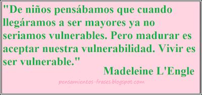 frases de Madeleine L'Engle
