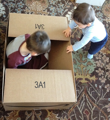 cardboard box time
