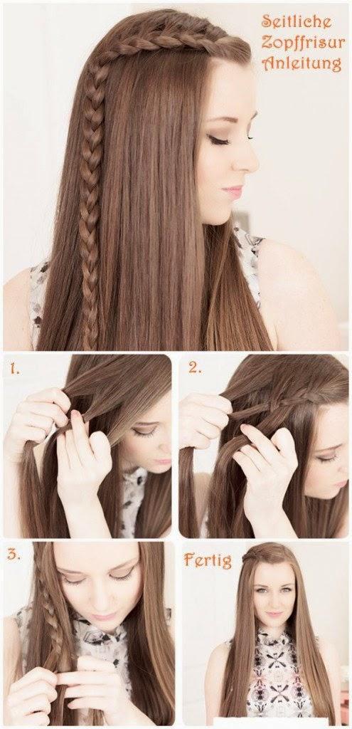 new hair style tutorial 2015