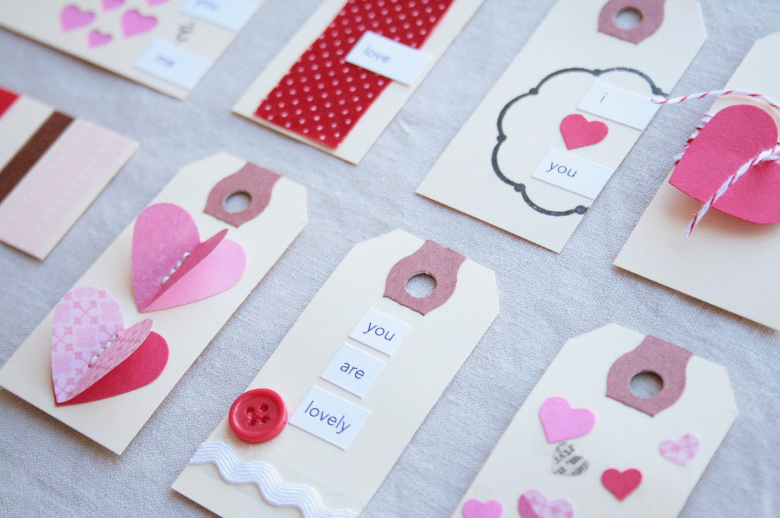 The Creative Place Diy Valentine Tags
